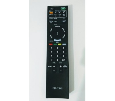 Controle Remoto Tv Lcd / Led Sony FBG-7443