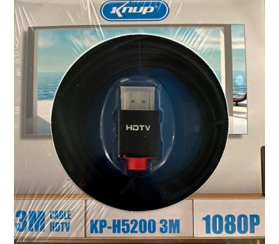 Cabo HDMI 5M KNUP