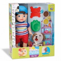Boneco My Pet Boy My Little Collection - Divertoys
