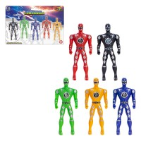 Boneco Heroi Kit C/ 5 PC - Art Brink