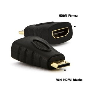 Adaptador Mini Hdmi X Hdmi