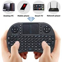 Teclado Wireless Mini Tv Box COM LED