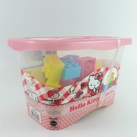 Blocos De Montar - Hello Kitty