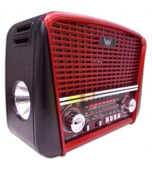 Radio Retro  Vintage Antigo Fm Am Usb Sd Lantern