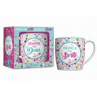 CANECA PORCELANA URBAN 360ML