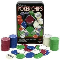 Kit Com 100 Fichas De Poker