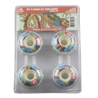 Rodas Para Skate Pu Shore 98 Bel Fix D KIT 4 UND