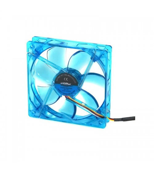 Cooler Fan 120mm DEX DX-12L LED Azul