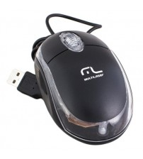 Mouse Multilaser Usb Classic preto